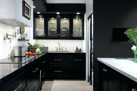 Black Kitchen Cabinets Ikea Wall Download House Home Best