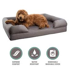 dog bed with removable cover. Modren With Petlo Orthopedic Mattress Pet Sofa Bed And Dog With Removable Cover T