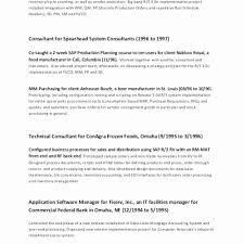 Hvac Resume Best Resume For Maintenance Technician Inspirational Hvac Technician