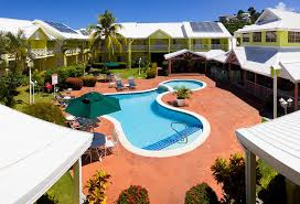 a view of the pool at bay gardens hotel or nearby