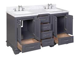 KBC Nantucket 60 Double Sink Bathroom Vanity Set Reviews Wayfair