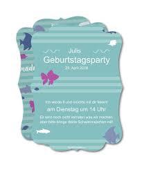 Einladung Kindergeburtstag Meerjungfrauen Party Planet Cardsde