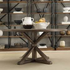 dining tables round rustic dining table distressed dining table circle wooden table with natural finished