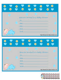Free Printable Baby Shower Invitations For Girls Free Printable Boy Baby Shower Invitations Portable Shower