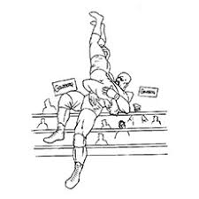 Small Picture Top 10 Wrestling Coloring Pages For Your Little One