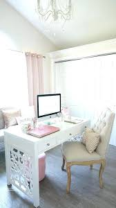 pink office desk. Feminine Office Chair A Girlish Desk In White With Cut Legs Creates Mood . Pink