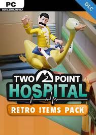 <b>Two Point Hospital</b> - <b>Retro</b> Items Pack DLC (US) | PC | CDKeys