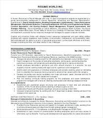 Hr Director Resume Extraordinary ☜ 48 Hr Manager Resume Sample