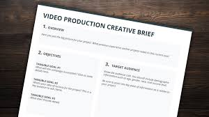 The Best Creative Brief Template For Video Creatives Free