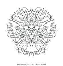Free Printable Mandalas Coloring Pages Adults Mandala Designs Home