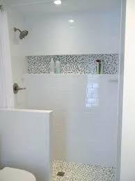 recessed shower shelf best ideas on white subway tile insert recessed shower