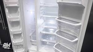 whirlpool side by side refrigerator white. whirlpool white side-by-side refrigerator wrs322fnah - overview youtube side by