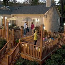 composite deck ideas. Wonderful Ideas Shown In Harvest Inside Composite Deck Ideas C