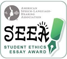asha student ethics essay award student ethics essay award