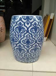 chinese garden stool. Blue Porcelain Stool Jindezhen Bathroom Dressing Ceramic Garden Chinese Drum D