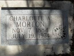 Charlotte Augusta Morton (1885-1974) - Find A Grave Memorial