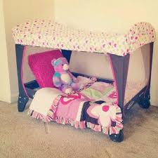 bedroom play ideas. turn your pack n play into portable toddler bed/ reading area. (old play, cut off the mesh on one side, and use a fitted sheet over top) bedroom ideas