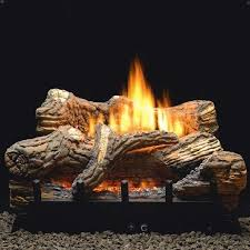 ceramic log fireplace elishment on fireplace also 1000 ideas about gas logs 6