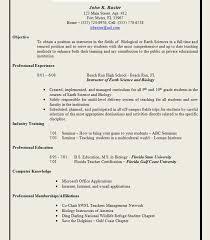 Teaching Resume Template Free Wonderful Resume Template Free Elementary Teacher Samples Templates Science