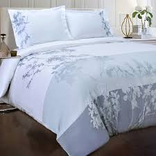 sydney 3 piece embroidered reversible duvet cover set