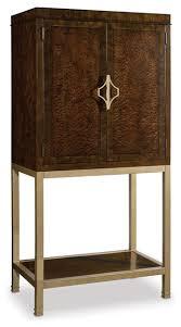 Hooker Furniture Skyline Bar Cabinet Dark Wood Contemporary