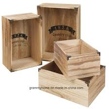 china 2 piece wooden storage boxes crates country club nested sy fruit veg food china personalised wooden beer crate vintage wooden box