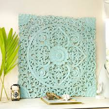 hand carved wall panel from bali
