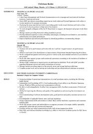 Technical Support Analyst Resume Samples Velvet Jobs