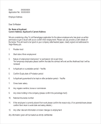 employment reference template 13 employment reference letter templates free sample