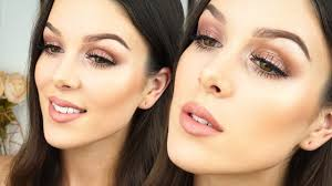 grwm stila eyes are the window soul rose gold spring makeup rhiannonclaire