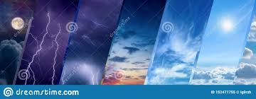 Change Background Of Pic Weather Forecast Concept Climate Change Background Stock