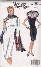 Vogue Dress Patterns Stunning Vogue Dress Patterns EBay