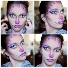 picture of cheshire cat inspired makeup