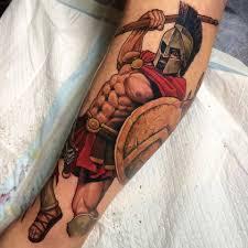 тату эскизы спартанец