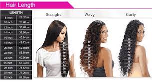 48 Credible Hair Weave Lengths Chart