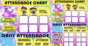 Attendance Chart Attendance Chart Ready To Print Depedclick