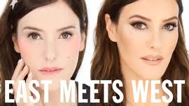 east meets west makeup trend transformation tutorial