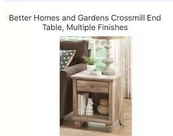 better homes and gardens crossmill end