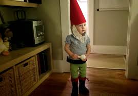 diy baby garden gnome costume hip