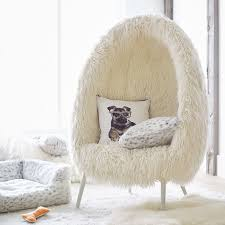 lounge furniture for teens. Ivory Furlicious Faux Fur Cave Chair PBteen With Regard To Teen Lounge Chairs Plan 2 Furniture For Teens I