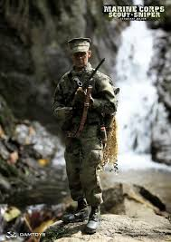 Marine Corps Scout Sniper Onesixthscalepictures Dam Toys Marine Corps Scout Sniper Sergeant