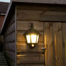 impressive decoration solar outside wall lights welcome light with pir