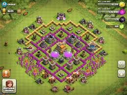 Town Hall 4 Base Design Pin By Heather Sawyer On Clash Of Clans Clash Of Clans