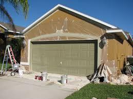 melbourne garage door spray painting