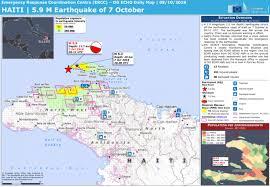 Haiti 5 9 M Earthquake Of 7 October Emergency Response