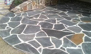 flagstone landscaping. Blue Crab Orchard Flagstone, Medium---$330 Per Ton Flagstone Landscaping