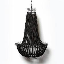 beaded chandelier black pendant light interior design u2013 mint black chandelier light h79