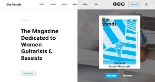 She Shreds Magazine Features