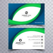 Buiness Card Abstract Creative Business Card Wave Template Design Download Free