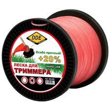<b>Леска для триммера DDE</b> Hard Line 2 4mm x 180m Grey-Red 241 ...
